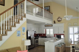 Kitchen with Loft